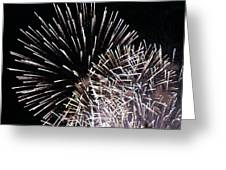 Firework Within Fireworks Greeting Card