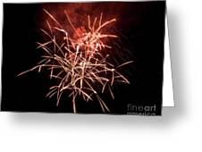 Fireworkd Greeting Card