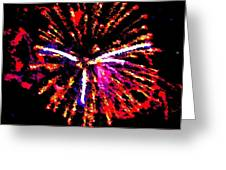 Fireworks 102 Greeting Card