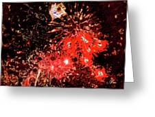 Fireworks 3 Greeting Card