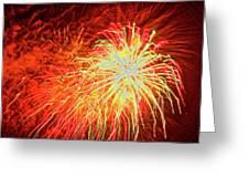 Fireworks 6 Greeting Card
