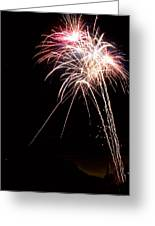 Fireworks 70 Greeting Card
