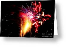 Fireworks Abstract #8 Greeting Card