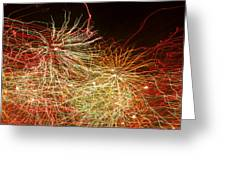 Fireworks Abstract IIi Greeting Card