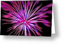 Fireworks Americana Greeting Card