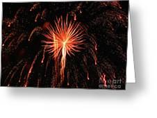Fireworks Eighteen Greeting Card