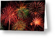Fireworks Greeting Card by Erik Watts