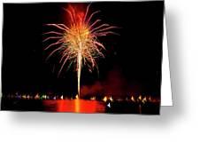Happy Birthday, United States Of America 8 Greeting Card