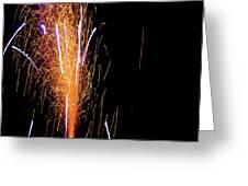 Fireworks II Greeting Card