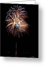 Fireworks IIi Greeting Card