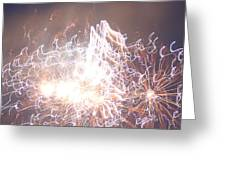 Fireworks In The Park 6 Greeting Card