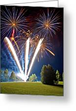 Fireworks No.2 Greeting Card