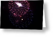 Fireworks Over Puget Sound 10 Greeting Card