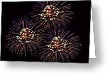 Fireworks - Purple Power Greeting Card