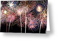 Fireworks Spectacular Greeting Card