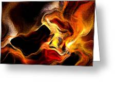 Firey Greeting Card