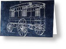 First Ambulance Patent Greeting Card