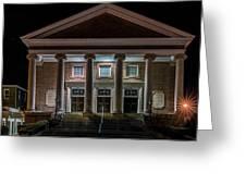 First Baptist Church Greeting Card
