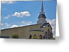 First Baptist Church - Pflugerville Texas Greeting Card