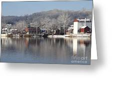 First Day Of Spring Bucks County Playhouse Greeting Card