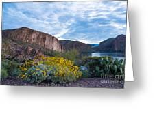 First Day Of Spring - Canyon Lake Greeting Card