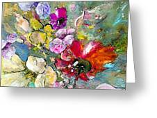 First Flowers Greeting Card