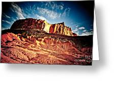First Light At Capitol Reef Greeting Card