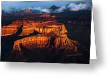 First Light - Grand Canyon Greeting Card