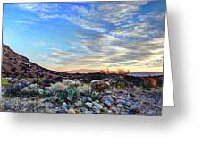 First Light In Valley Of Fire Greeting Card