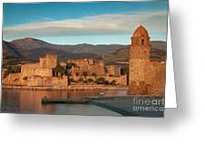 First Light Over Collioure Greeting Card