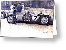 First Met Up Talbot Lago Le Mans 1950 Greeting Card