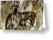 First Nation 67r Greeting Card