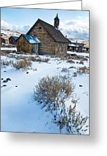 First Snow  Bodie Greeting Card