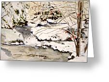 First Snowfall Greeting Card