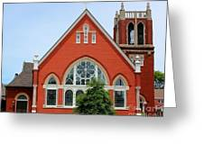 First United Methodist Church Tupelo Ms Greeting Card