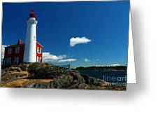 Fisgard Lighthouse Greeting Card