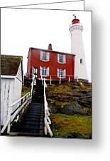 Fisgard Lighthouse Greeting Card