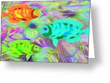 Fish 3 Greeting Card