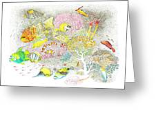 Fish Are Everywhere Greeting Card