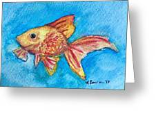 Fish Bowl Greeting Card