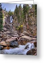 Fish Creek Fallin Greeting Card
