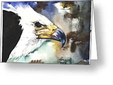 Fish Eagle II Greeting Card