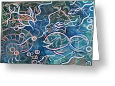 Fish Family Greeting Card