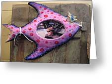 Fish Frame Sold Greeting Card