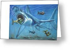 Fish In Action Greeting Card