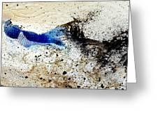 Fish In Rapids Greeting Card