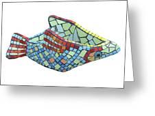 Fish Greeting Card by Katia Weyher
