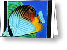 Fish Number Four Greeting Card