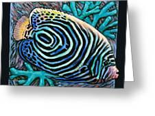 Fish Number Nine Greeting Card