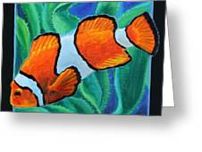 Fish Number Three Greeting Card